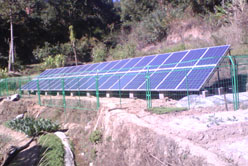 solar pumping drought control demonstation