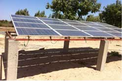 Solar Array for Pumping